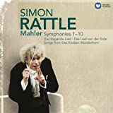 Mahler: Complete Symphonies 1-10 & Songs (Rattle) [14cd]by Sir Simon Rattle