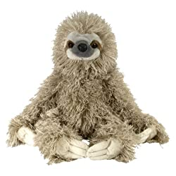 [Best price] Stuffed Animals & Plush - Wild Republic Cuddlekin Three Toed Sloth 12