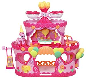 My Little Pony Ponyville Roller Skate Party Cake with Pinkie Pie