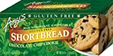 Amy's Chocolate Chip Shortbread Cookies Gluten Free, 5.4-Ounce (Pack of 3)