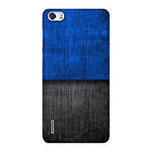 Cute Blue Black Print Back Case Cover for Honor 6
