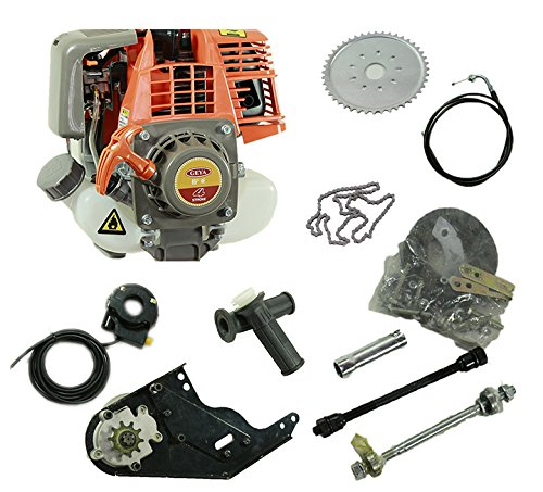 33CC GAS Motor Bicycle 4-Stroke Engine Kit Motorized Bike EPA FS Bicycle Motors (4 Stroke Motor Bike Kit compare prices)