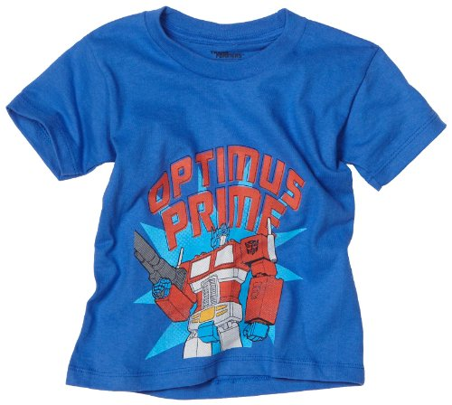 : Transformers Boys 2-7 Toddler Optimus Prime T-Shirt