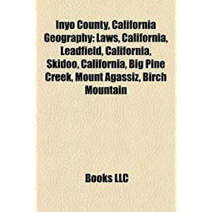 Inyo County California Geography | RM.