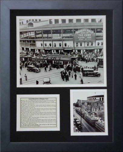 legends-never-die-wrigley-field-1935-framed-photo-collage-11x14-inch