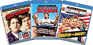 Blu-ray Comedy Bundle (Superbad, You Don't Mess with the Zohan, Talladega Nights)