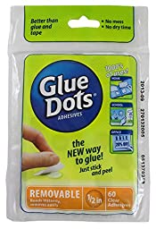 Glue Dots Removable Sheets
