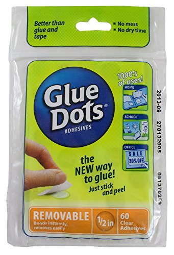 Glue Dot Removable Sheets