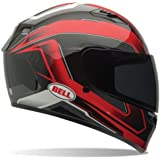 Bell Cam Adult Qualifier On-Road Motorcycle Helmet - Red - Large