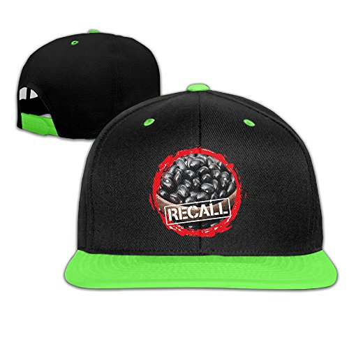 teenage-black-bean-recall-hy-vee-print-youth-adjustable-snapback-hats-caps