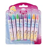 8 Disney Princess Wax Crayons
