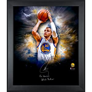 Stephen Curry Golden State Warriors Framed Autographed 20