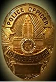 LAPD Police Officer Badge Pin 1""