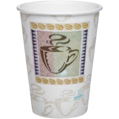 Dixie PerfectTouch 12 oz Insulated Paper Cups - 160-Count