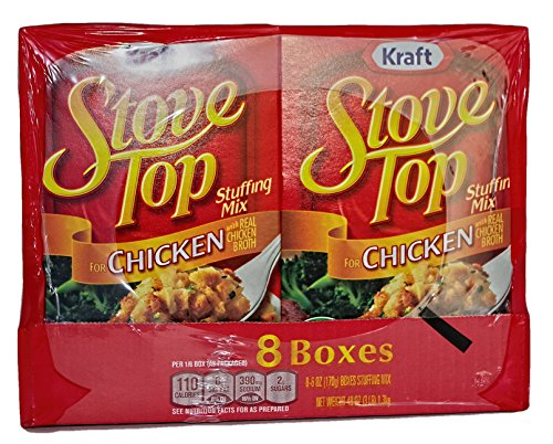 Kraft Chicken Stove Top Stuffing Mix (6 oz. Box, 8 ct.) (Chicken Stuffing compare prices)