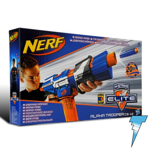 Nerf Alpha Elite Trooper Esclusivo
