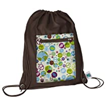 Planet Wise Sports Bag, One Size, Peace On Earth