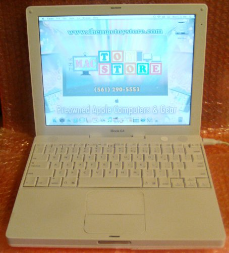 Apple iBook 12.1 G4 (1.33 GHz, 512 MB RAM, 40 GB Hard Drive, Combo Drive, OS 10.4.11)