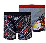 Disney Pixar Cars Lightning McQueen 2 Pack Boys Boxer Briefs for boys