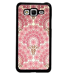PrintDhaba Floral Pattern D-2106 Back Case Cover for SAMSUNG GALAXY GRAND PRIME (Multi-Coloured)