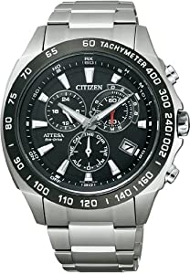 Citizen Attesa radio clock Eco-Drive ATP53-3033 Men's watch Japan Import