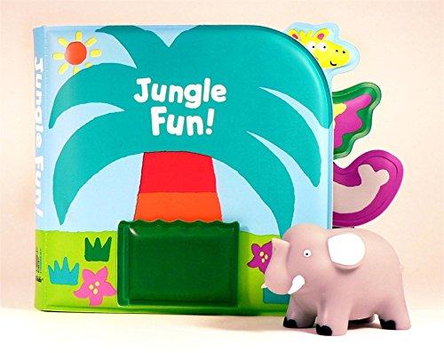 Jungle Fun!: Bath Book & Squirting Tub Toy