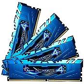 G.SKILL Ripjaws 4 Series 32GB 4 X 8GB 288-Pin DDR4 SDRAM 2400 PC4-19200 Desktop Memory Model F4-2400C15Q-32GRB
