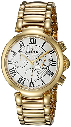 Edox-Womens-10220-37RM-AR-LaPassion-Analog-Display-Swiss-Quartz-Rose-Gold-Watch