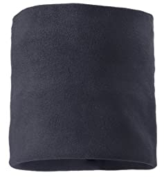 Screamer Fleece Neck Gaiter, Charcoal, One Size