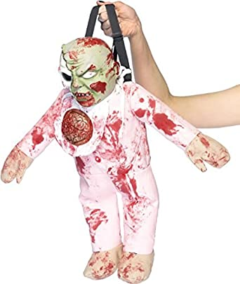 Zombie Baby Backpack Pink O/S