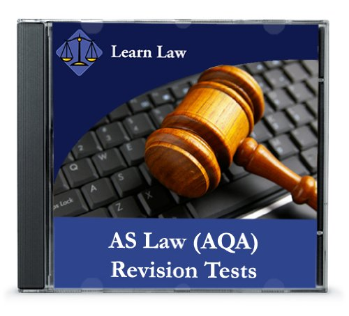 AS Law AQA Revision Tests (revised 2009 syllabus)
