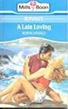 Late Loving (0263757889) by Donald, Robyn