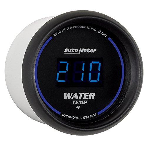 Auto Meter 6937 Cobalt Digital Water Temperature Gauge (Auto Meter Oil Temperature Gauge compare prices)
