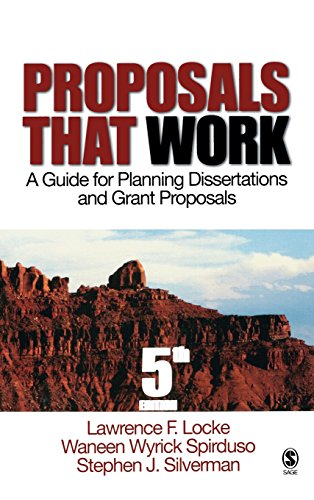 Proposals That Work: A Guide for Planning Dissertations and Grant Proposals (Proposals That Work: A Guide for Planning (Hardcover))