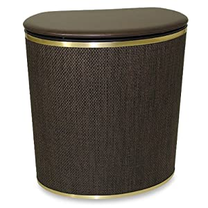 The bronze bow front hamper - High end laundry hamper ...