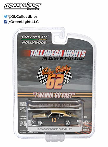 Greenlight Hollywood Series 8 - Talladega Nights 1969 Chevrolet Chevelle