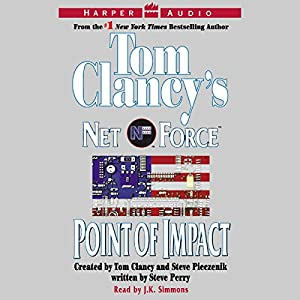 Tom Clancy's Net Force #5: Point of Impact Audiobook