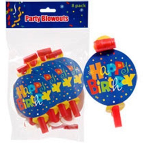 "Whimsy ""Happy Birthday"" Blowouts, 8-ct. Packs by Greenbrier - 1"