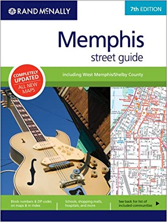 Rand McNally Memphis Street Guide: Including West Memphis/Shelby County