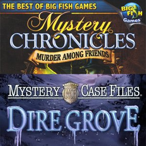 Mystery Case Files 2-Pack Dire Grove and Mystery Chronicles