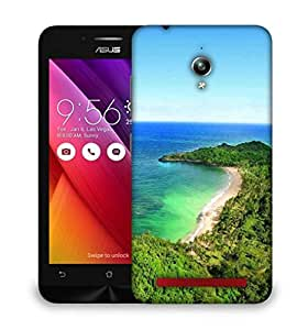 Snoogg Forest And The Sea Designer Protective Phone Back Case Cover For Asus Zenfone GO