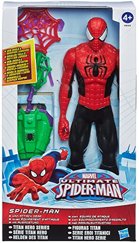 Hasbro - SpiderMan 30 cm con Accessorio