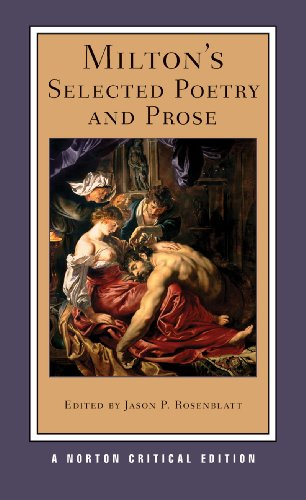 Milton's Selected Poetry and Prose (Norton Critical...