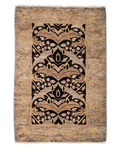 Darya Rugs Arts & Crafts Rug, Light Beige, 4' 8 x 3' 1
