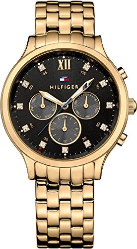 Tommy Hilfiger Damen-Armbanduhr Analog Quarz Edelstahl beschichtet 1781612 thumbnail