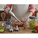 Kitchenaid KHB2561CU 5 Speed Immersion Hand Blender - Contour Silver