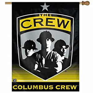 MLS Columbus Crew 27-by-37-Inch Vertical Flag by WinCraft