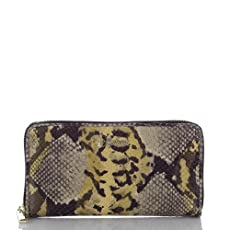Atelier Hingham Zip Around Wallet<br>Gold