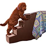 Pet Gear Easy Step IV Pet Stairs, 4-Stepfor cats and dogs up to 150-pounds