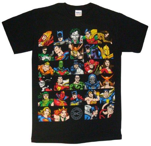 【DCコミックス】 オールスターTシャツ【ブラック】A